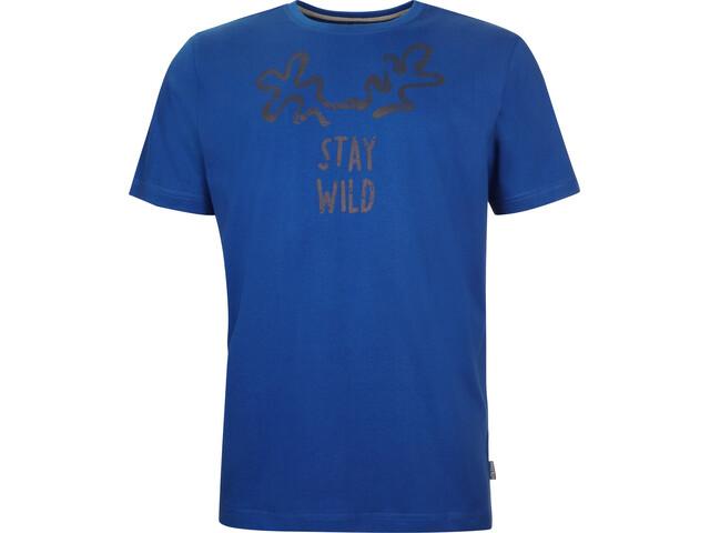 Elkline Staywild T-Shirt Homme, royal